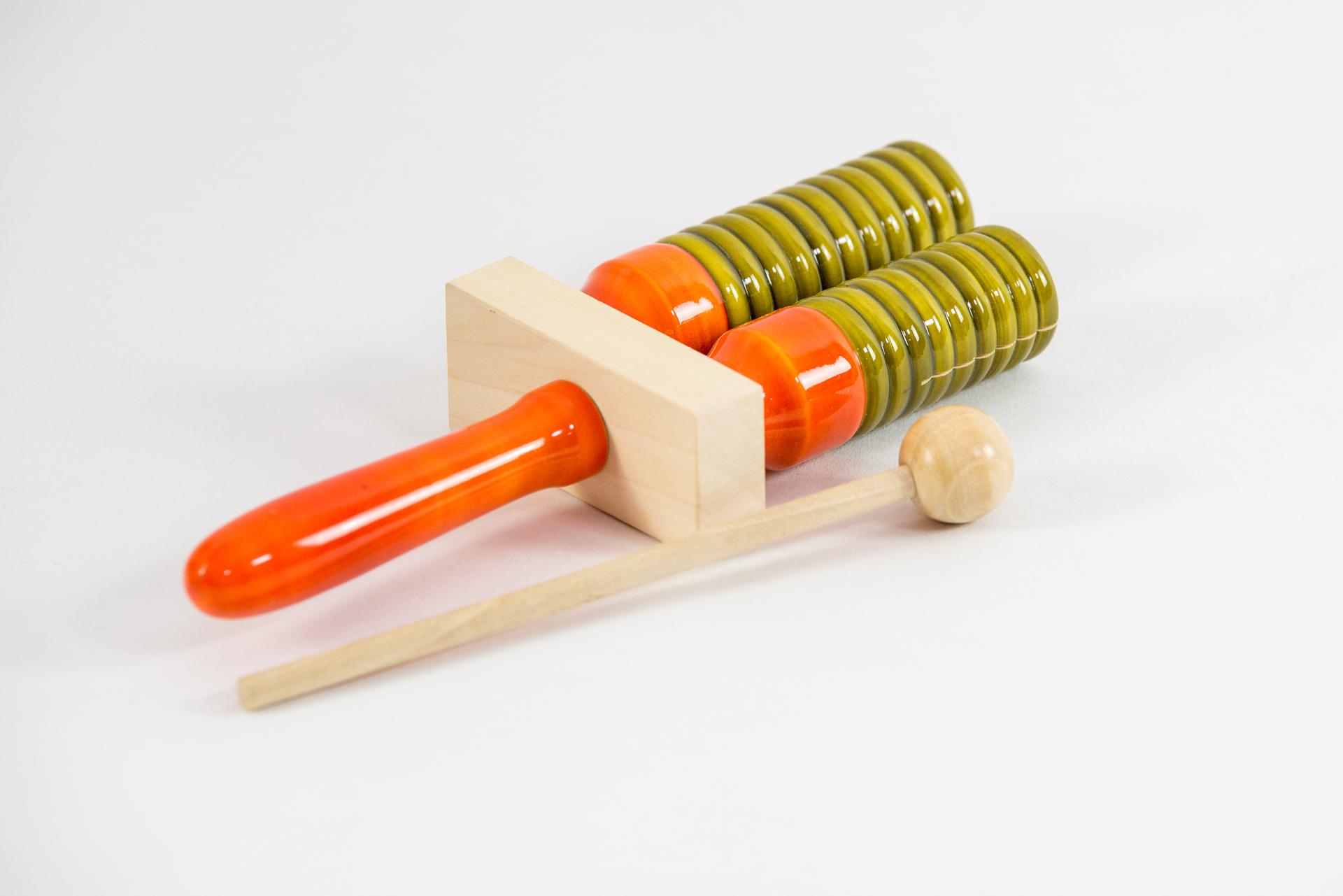 2er Holz-Agogo