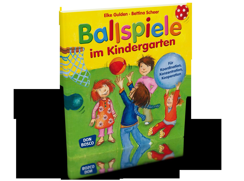 Ballspiele im Kindergarten