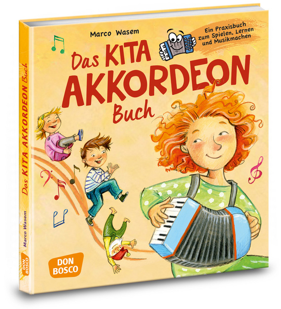 Das Kita-Akkordeon-Buch, m. Audio-CD