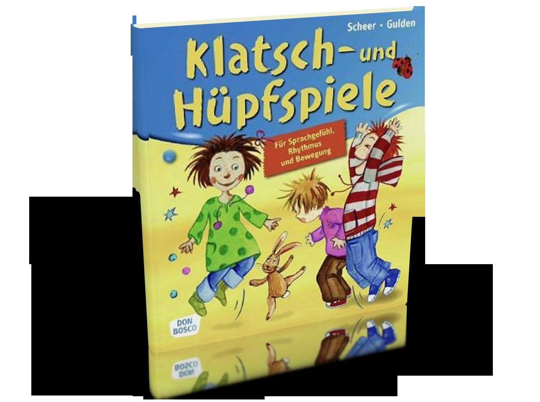 Klatsch- und Hüpfspiele - Für Sprachgefühl, Rhythmus und Bewegung