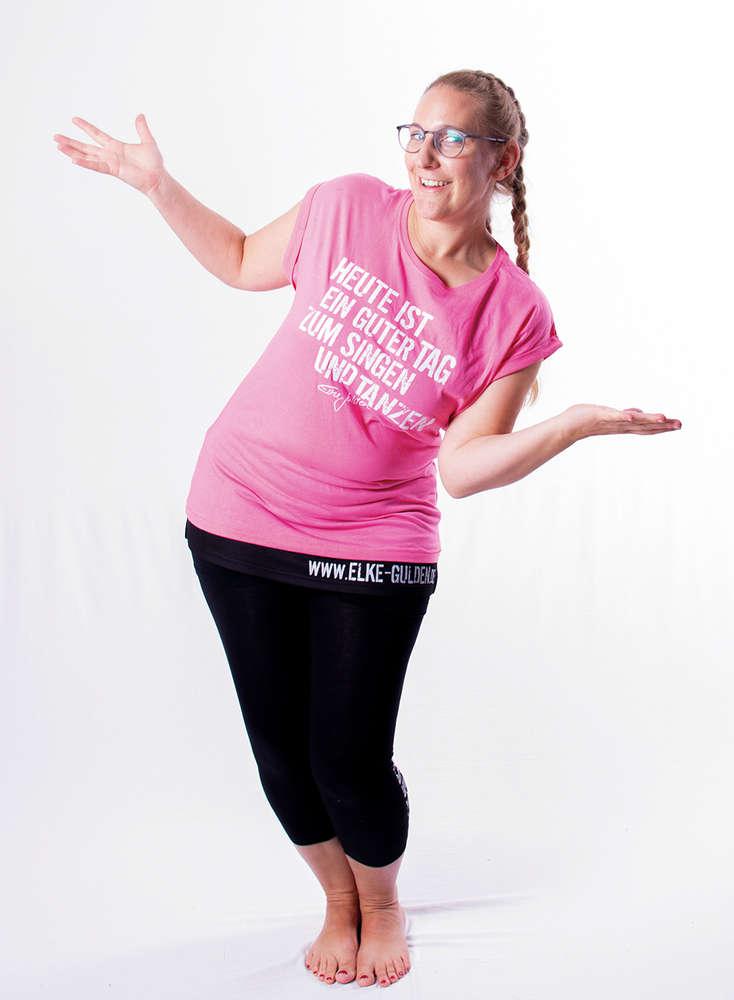 T-Shirt Heute ist ein guter Tag zum Singen und Tanzen