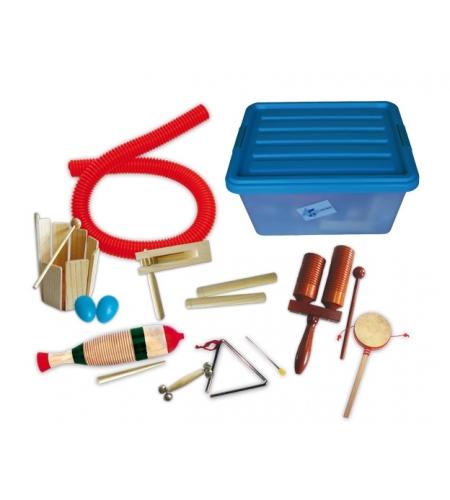 33 Instrumente in einer Plastikbox
