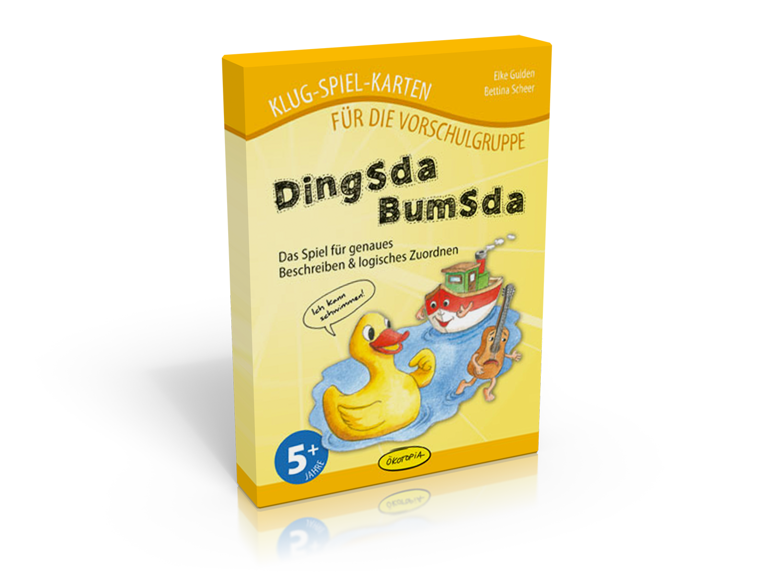 Dingsdabumsda - Das Spiel für genaues Beschreiben & logisches Zuordnen