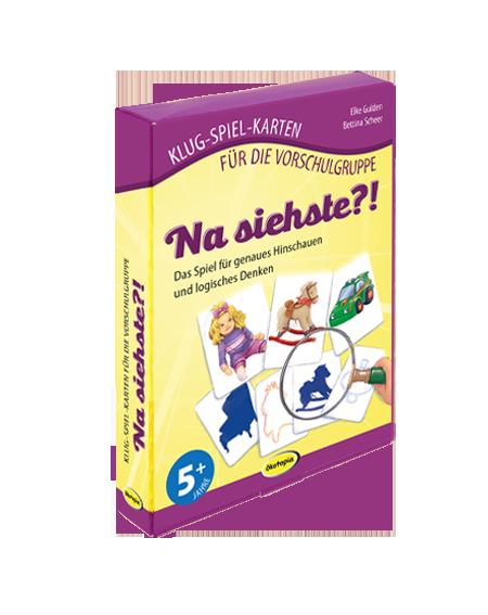 """Klug-Spiel-Karten """"Na siehste?!"""""""