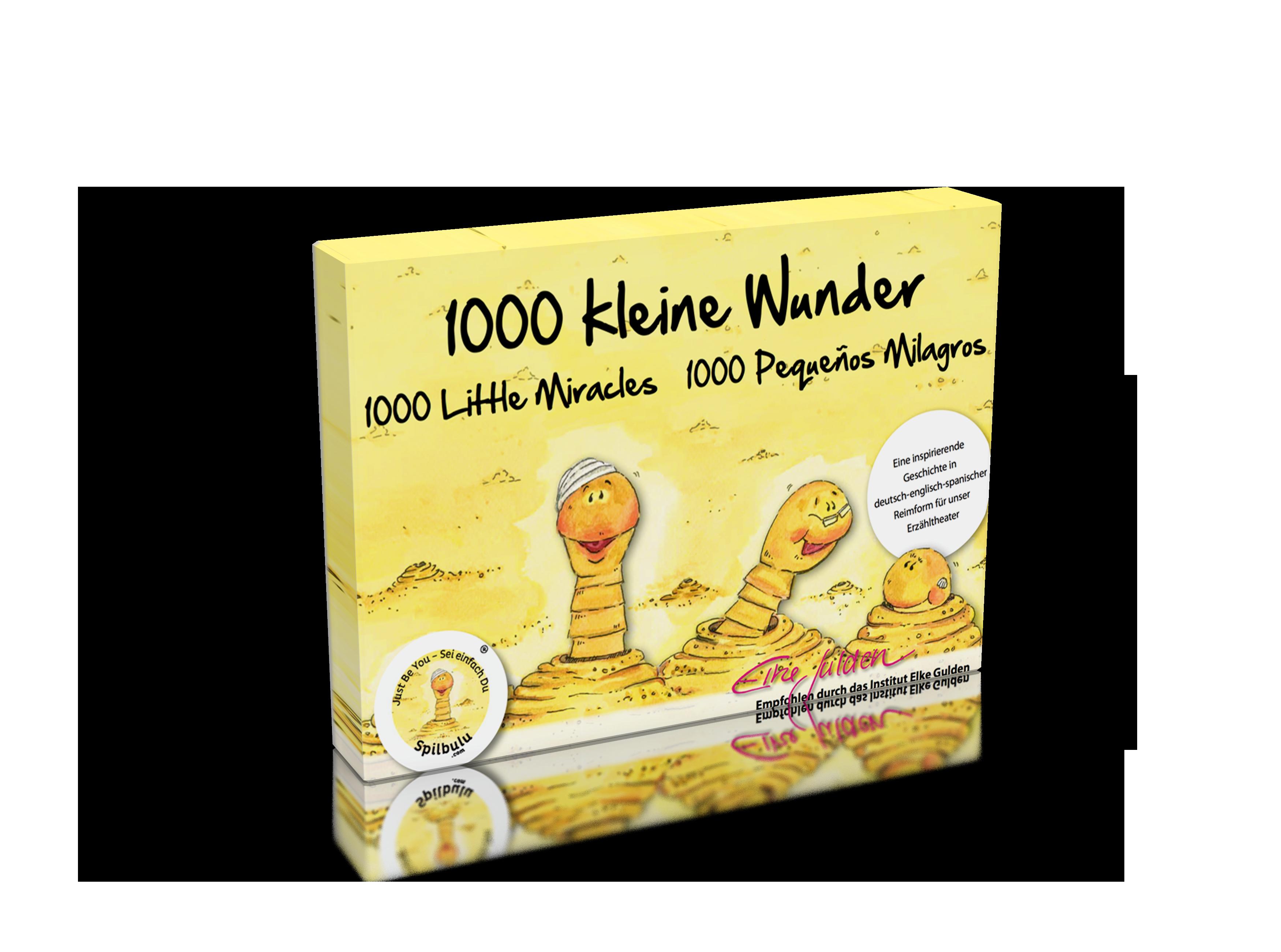 Kamishibai-Bildkartenset 1000 kleine Wunder