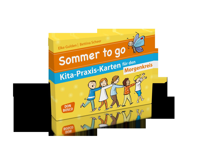 Sommer to go Kita-Praxis-Karten für den Morgenkreis