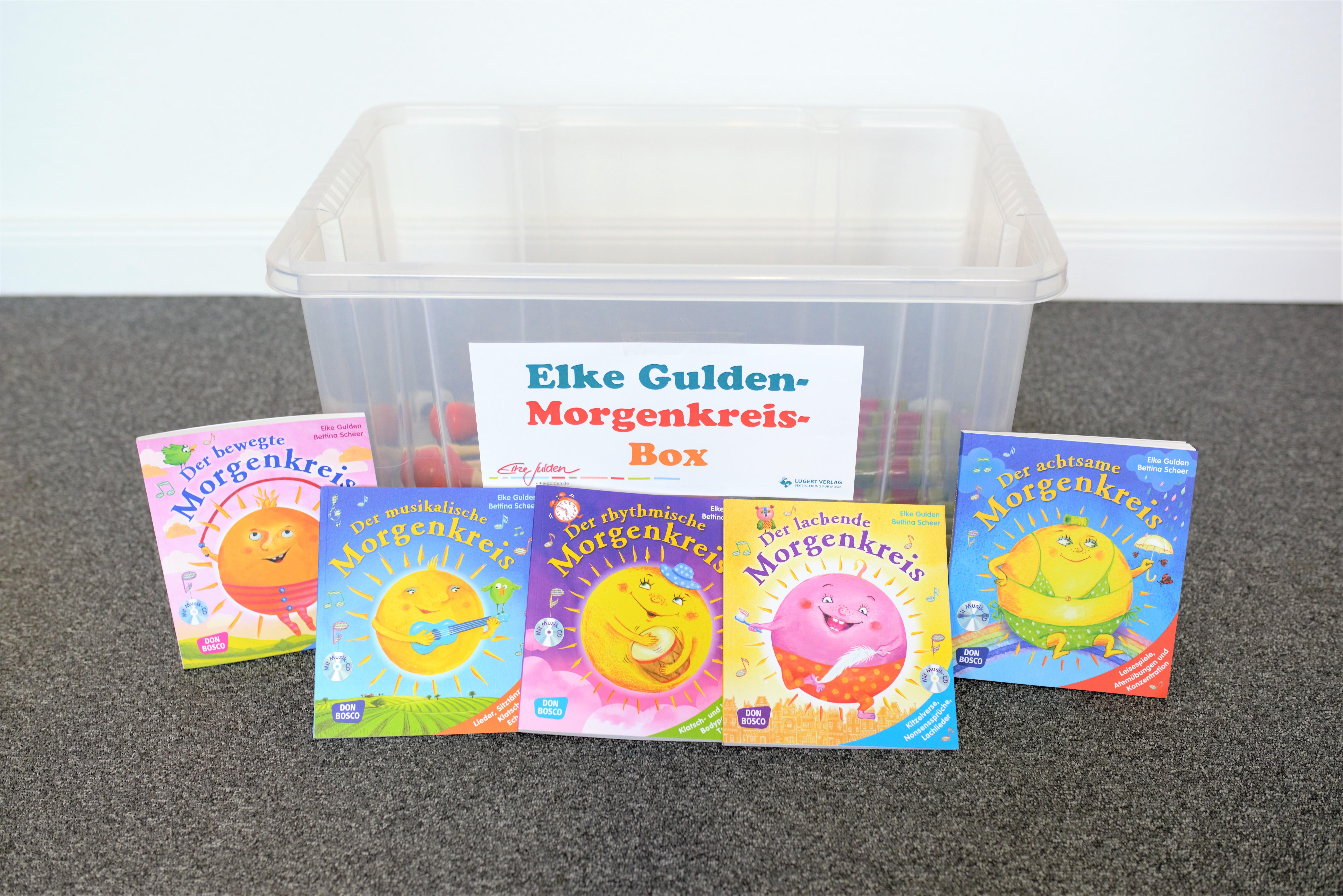 Morgenkreis-Box inkl. Bücher