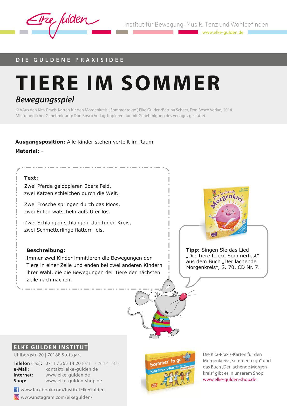 Kita-Praxis-Kartenset für den Morgenkreis: Frühling, Sommer, Herbst und Winter to go